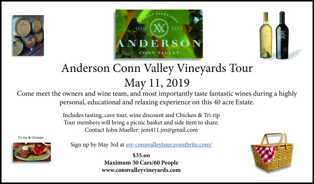 Anderson Conn Valley Vinyards Tour @ Anderson Conn Valley Winery