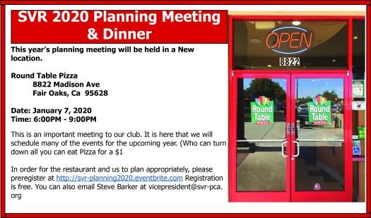 Svr Planning Meeting 2020 New Location Sacramento Valley Region Of Pca