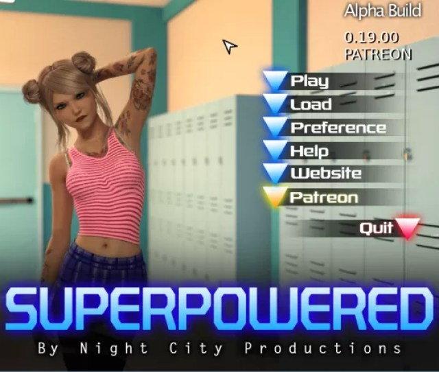 Night City Productions Superpowered Version  Update