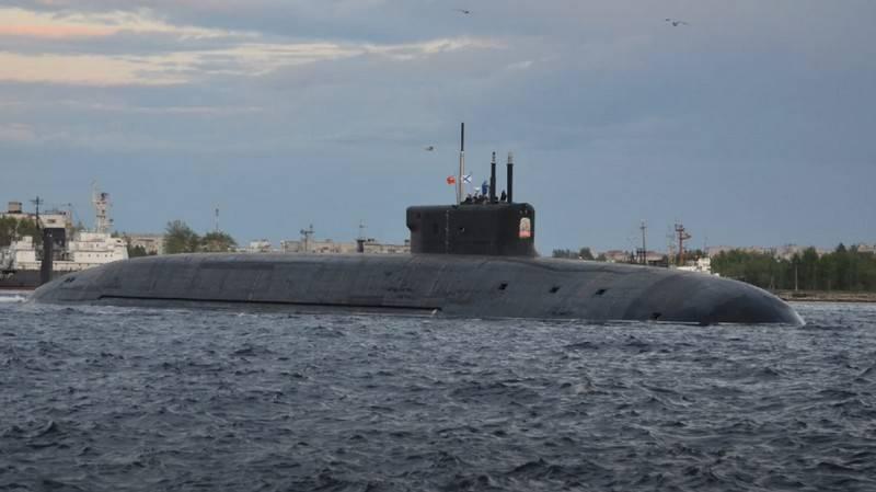 Атомный подводный крейсер «Князь Владимир»