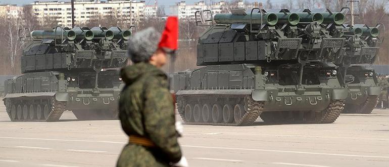 Российских военных вооружат новейшими ЗРК «Бук-М3» и «Бук-М2»