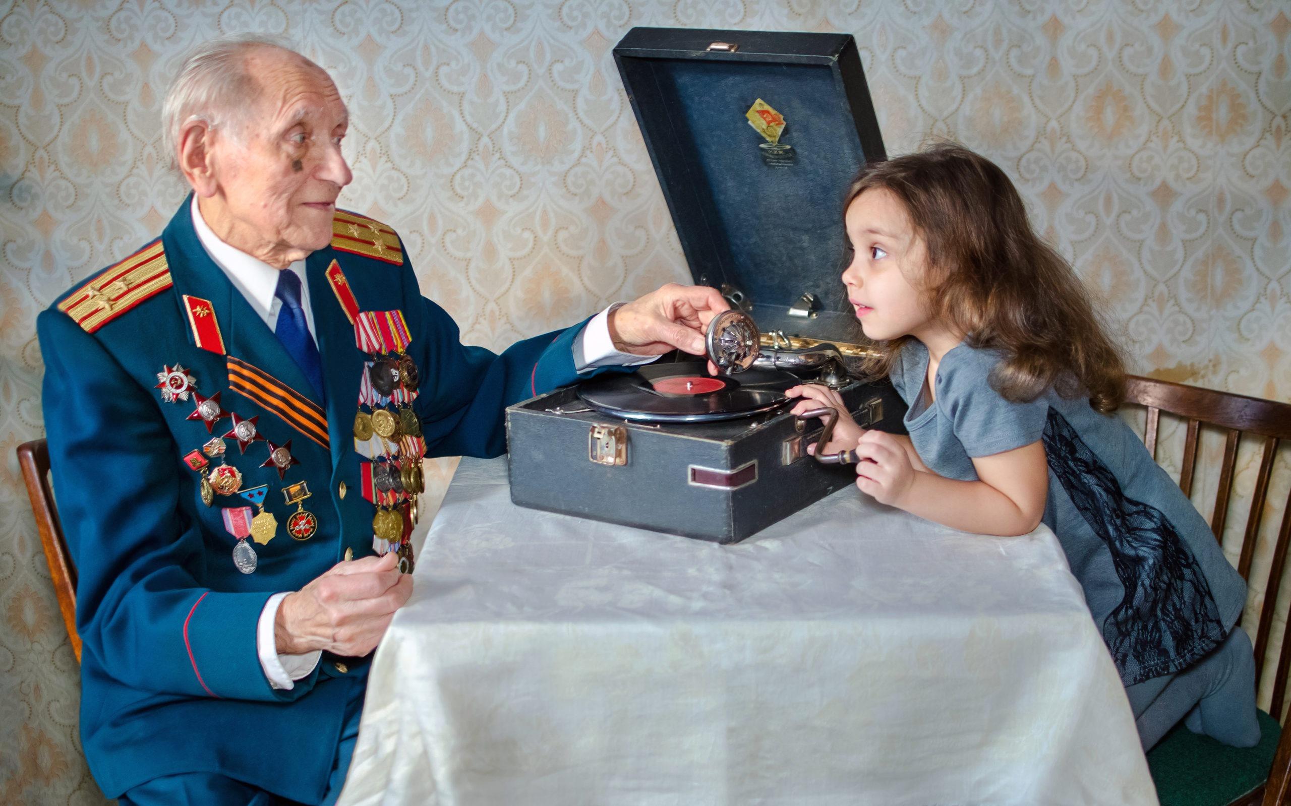 Акция «Хочу быть похожим на деда!»