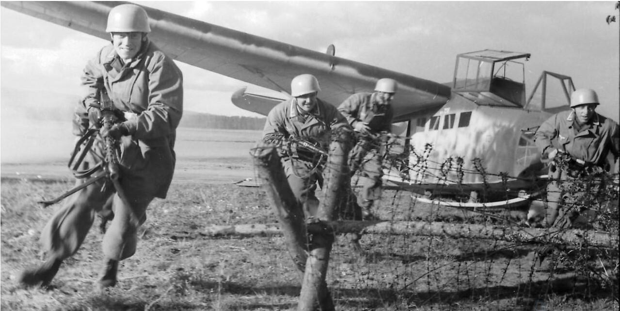 10 заповедей немецких ВДВ. Тактика десантирования и боя
