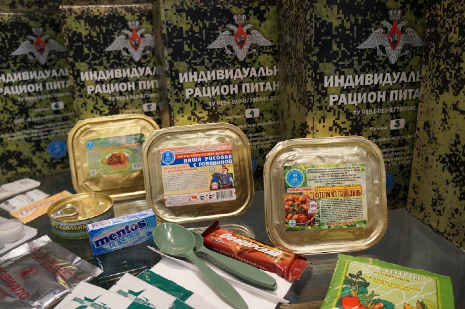Спецназ России перешел на новые компактные рационы питания
