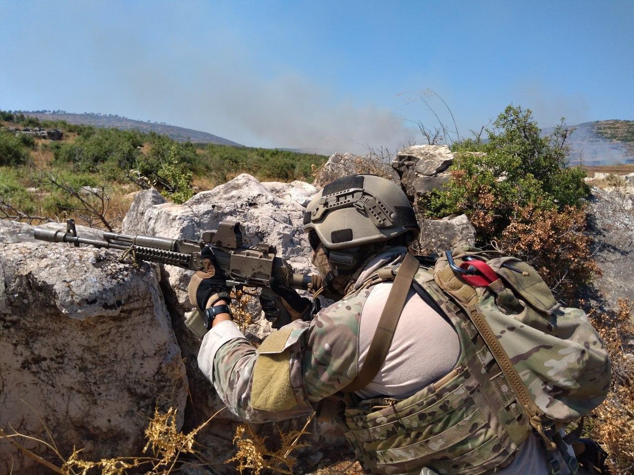 Спецназ ГРУ в Сирии