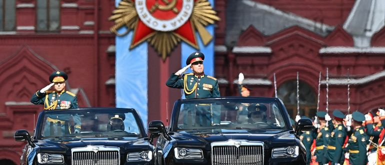 Парады Победы в городах России-2021. Фоторепортаж