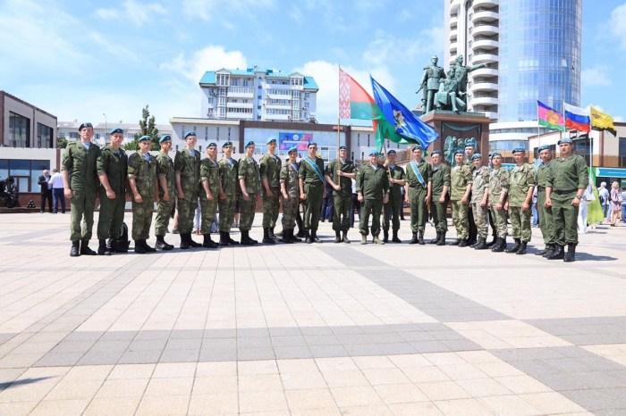 Участники совместного российско-белорусско-сербского тактического учения «Славянское братство-2021» посетили памятные места города-героя Новороссийск