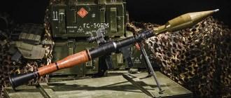 Легендарный советский гранатомёт РПГ-7