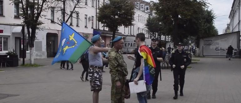 В Латвии в день ВДВ решили провести гей-парад