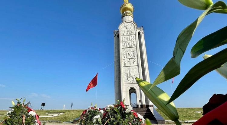 В Белгородской области отдали дань уважения воинам, погибшим в 1943 году под Прохоровкой