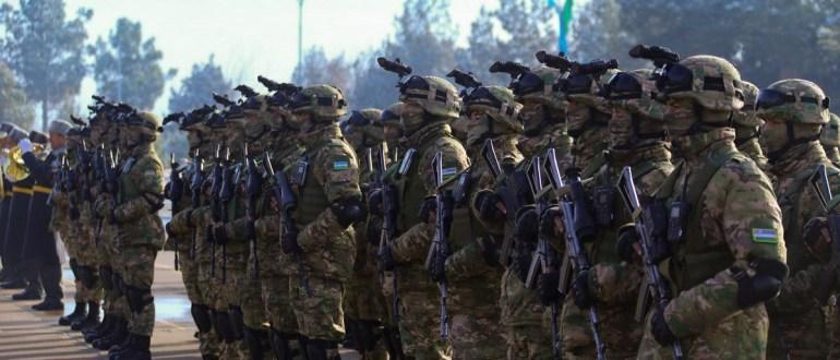 Спецназ РФ и Узбекистана провел диверсионную операцию в тылу «противника» на полигоне Термез: видео