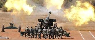 Индия разместила артиллерийские орудия M-777 рядом с границей Китая