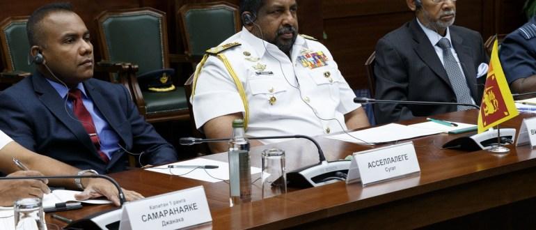 Военная делегация Шри-Ланки посетила Кантемировскую танковую дивизию ЗВО в Подмосковье
