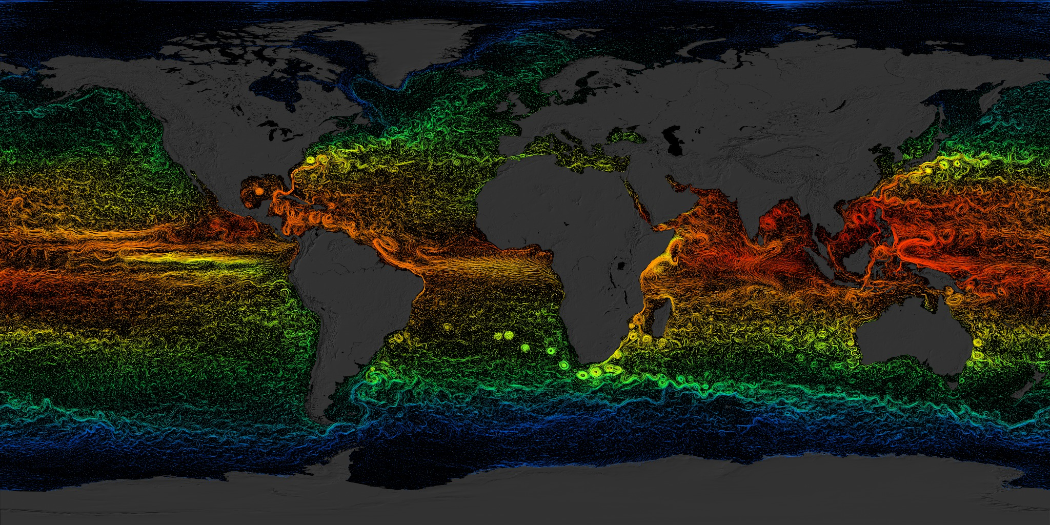 Svs Global Sea Surface Currents And Temperature