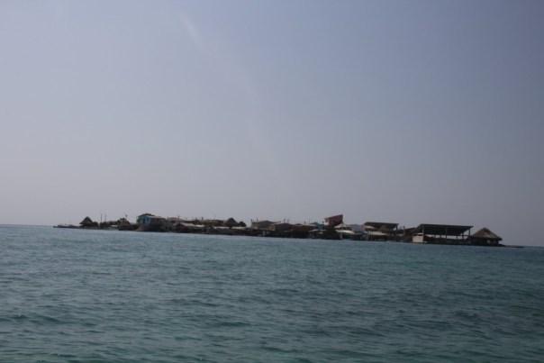 isla el islote dichtstbevolkt eiland van de wereld