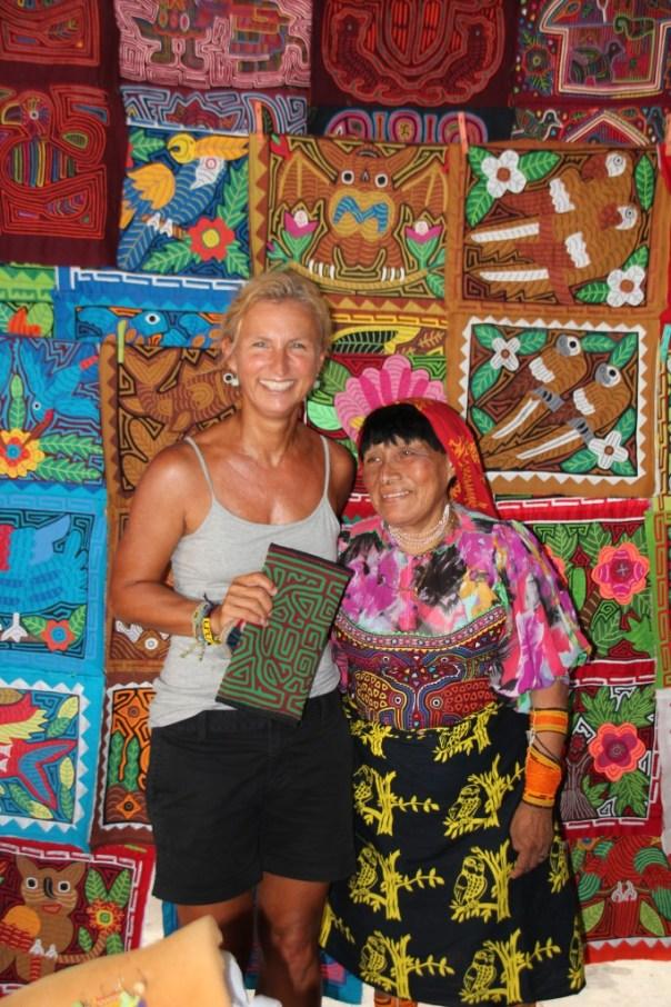 Nog een alleralleralllllerlaatste Kuna Mola handtasje