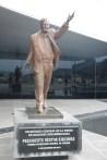 De eerste voorzitter van de unie van de zuid amerikaanse naties