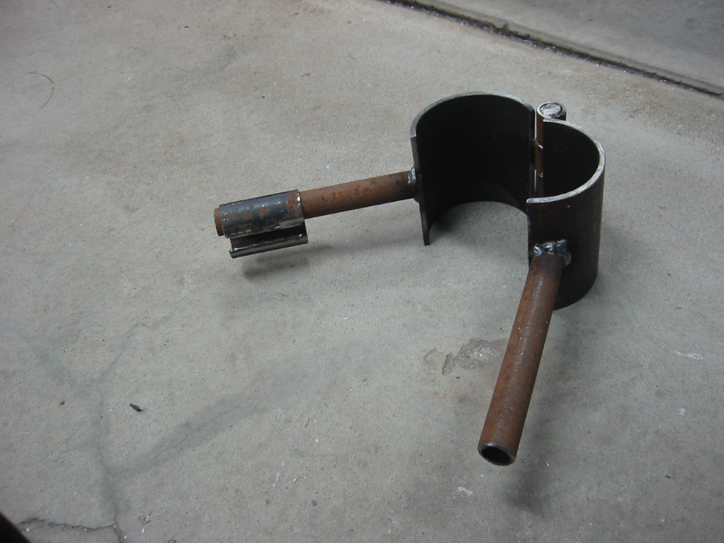 (3) Tool to form pool of metal  above the parts pour spout.