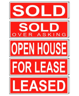 real estate sleeve sign
