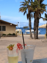 Happy hour on Catalina Island
