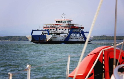 #Bahia Ballena to Puntarenas, CR_Tambor ferry