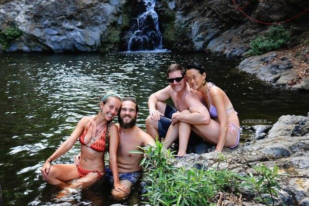 #Montezuma falls_Fabulous foursome