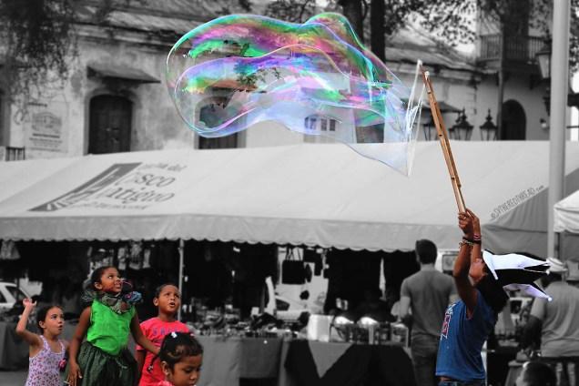 #Panama City_Casco Viejo_Delighted children