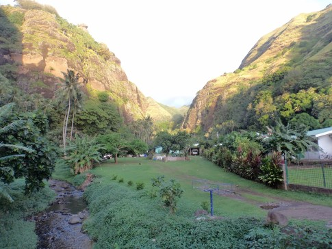 Houses in the valley, Fatu Hiva