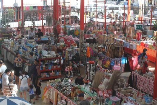 Papeete market - a very popular spot and open six days a week