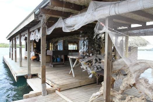 The floating pearl shop and information centre