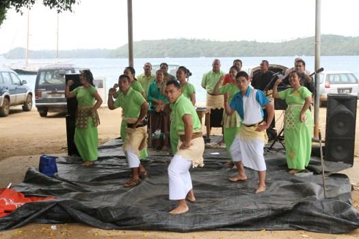 Aerobics Tongan style?