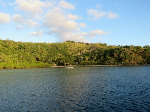 Nasau Bay - the retreat is so well hidden it's hard to spot
