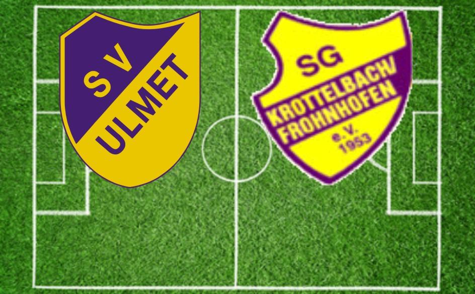 SV Ulmet gegen SG Krottelbach Frohnhofen