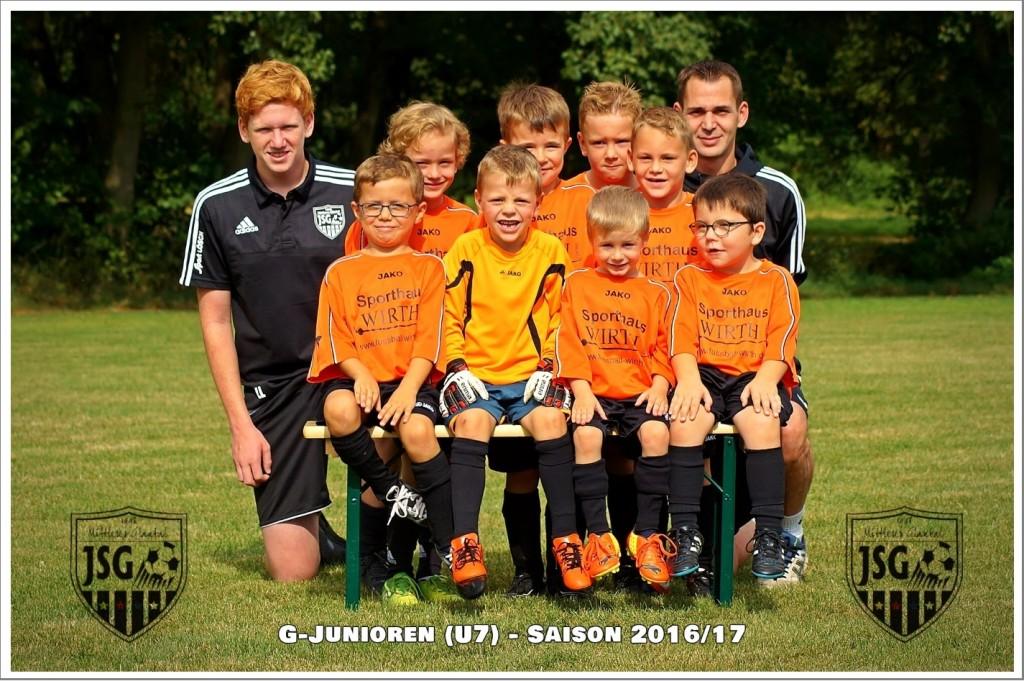 G-Junioren, Bambini Mannschaft der JSG