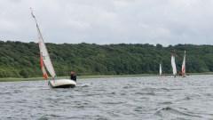 Gemeinsame Seeüberquerung – bei dem Wind flott