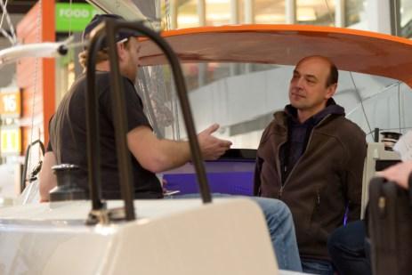 Armin im Gespräch mit Alexander Vrolijk