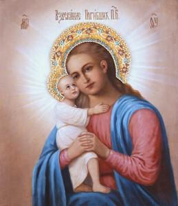 Всю жизнь Матрона не расставалась с иконой. Теперь эта икона Божией Матери находится в Москве, в Покровском женском монастыре.