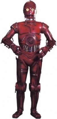 【推測】C-3POの赤い腕