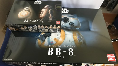 1/2 BB-8 (バンダイ) 開封レビュー