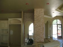 Custom Brick southwest stucco