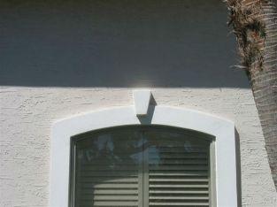 window detail - southwest stucco