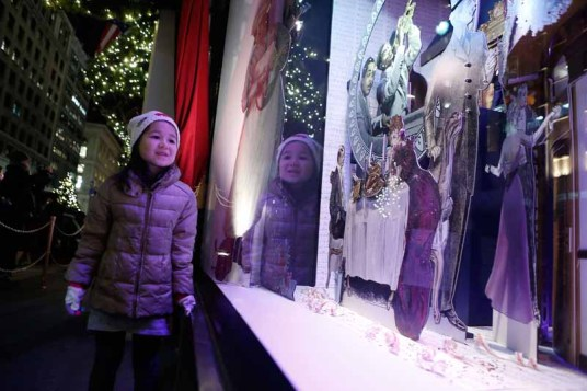 Lord & Taylor Flagship Holiday Window Unveiling