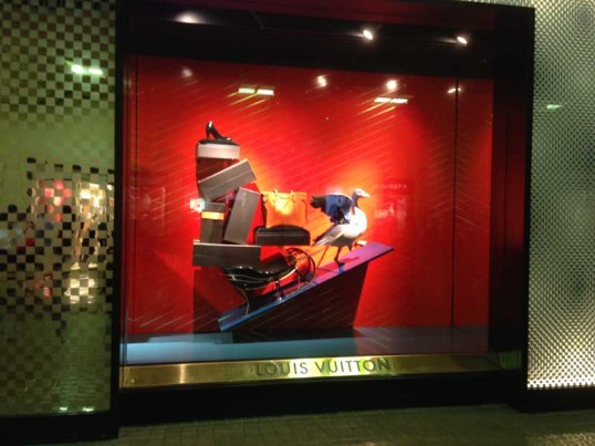 Louis Vuitton Christmas 2013 Store Window