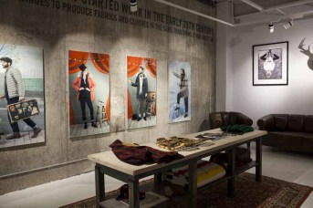 Woolrich Store Soho_Downstairs
