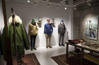 Woolrich Store Soho_Downstairs_Woolrich Woolen Mills