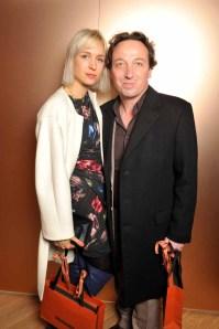 Anne-Sophie Mignaux & Emmanuel Perrotin