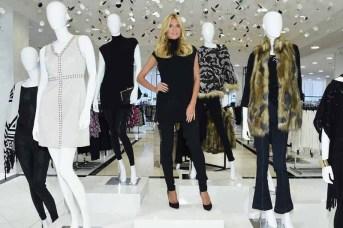 Heidi Klum Visits The INC International Concepts Shop At Macy's Herald Square