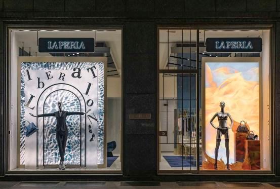 La Perla Liberation Windows Milan (1)