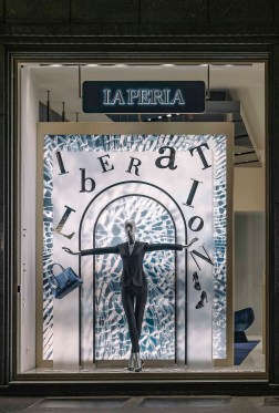 La Perla Liberation Windows Milan (2)