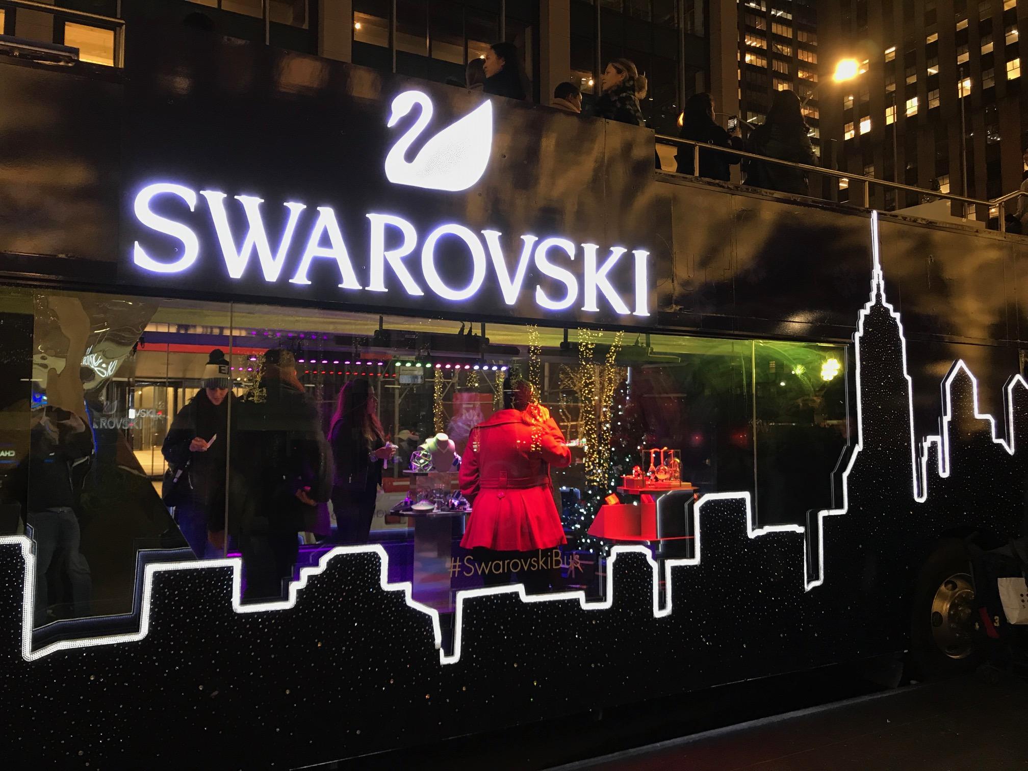 SWAROVSKI NYC 2018